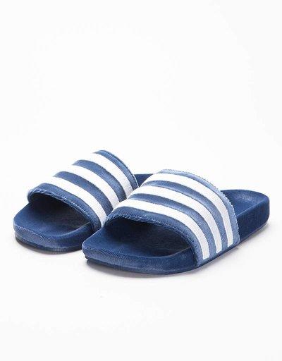 Adidas Adilette Core Mystery Blue/white