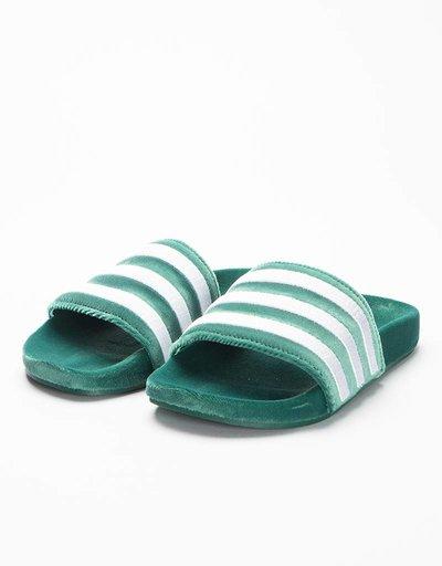 Adidas Adilette Core Green/White/White