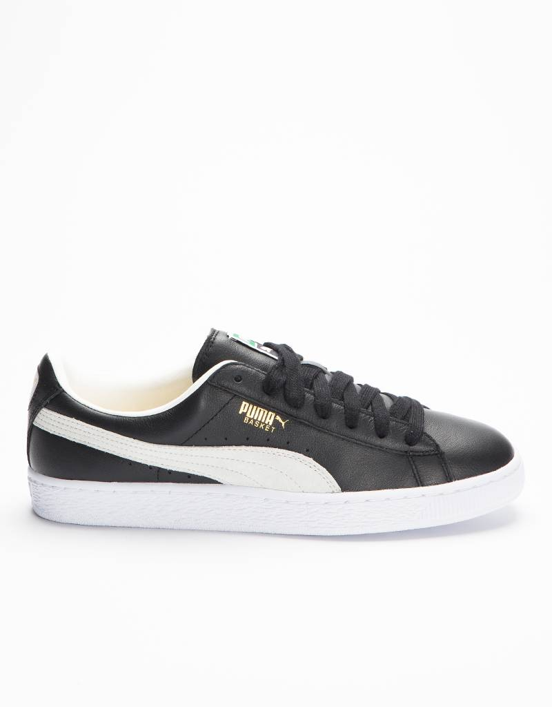 Puma Basket Classic Black/White