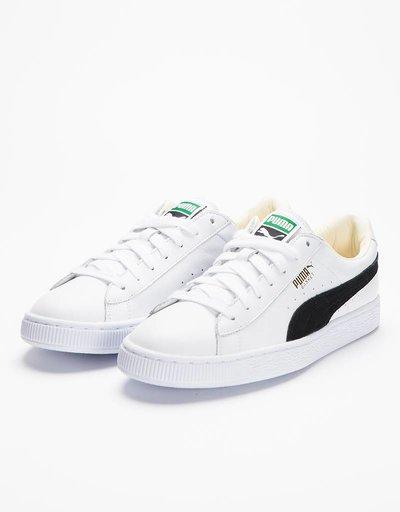 Puma Basket Classic White/Black