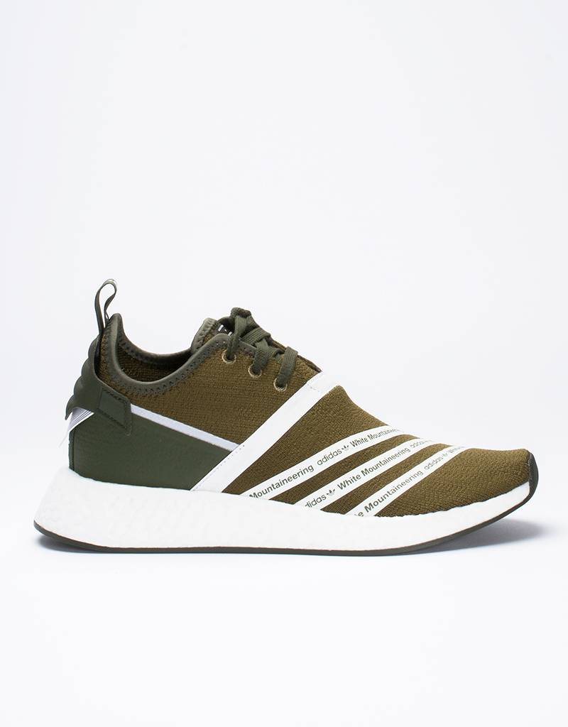 adidas x white mountaineering NMD PK Trace Olive
