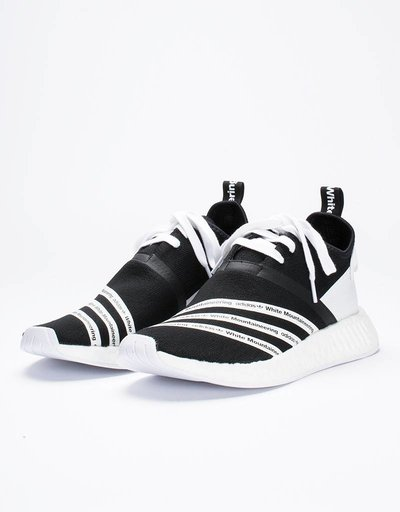 adidas x white mountaineering NMD R2 PK Black