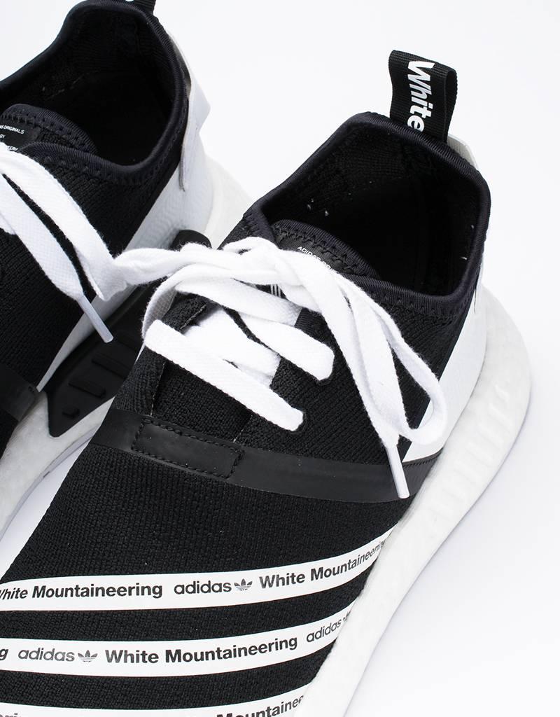 adidas x white mountaineering NMD R2 PK Black