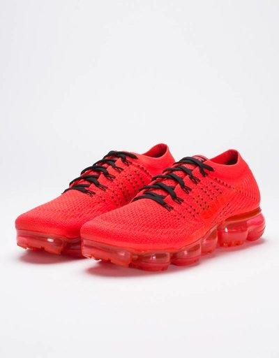 NikeLab X CLOT Air Vapormax Flyknit Black/Bright Crimson White