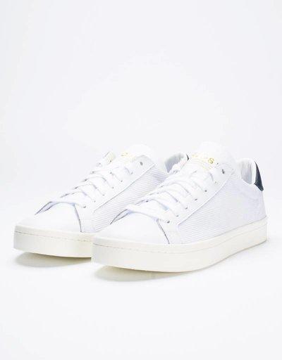 adidas Court Vantage White/Collegiate Navy