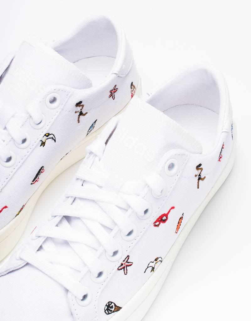 adidas Womens Court Vantage White/Off White
