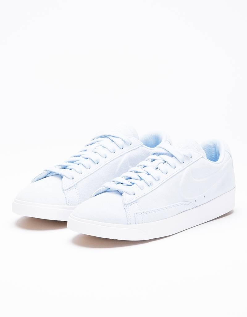 Nike Women's Blazer Low Shoe Ice Blue/Ice Blue-White