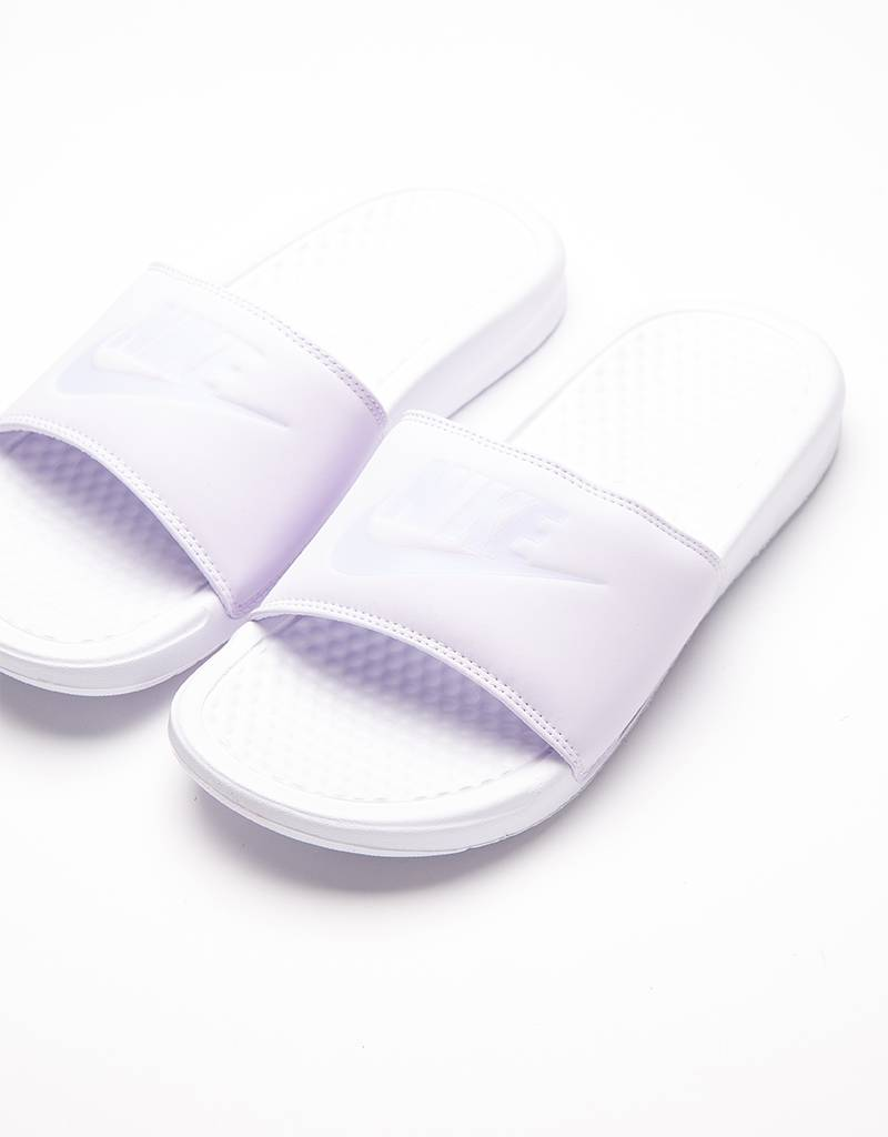 Nike Womens Benassi JDI Pastel QS Barely Grape/Mist/white