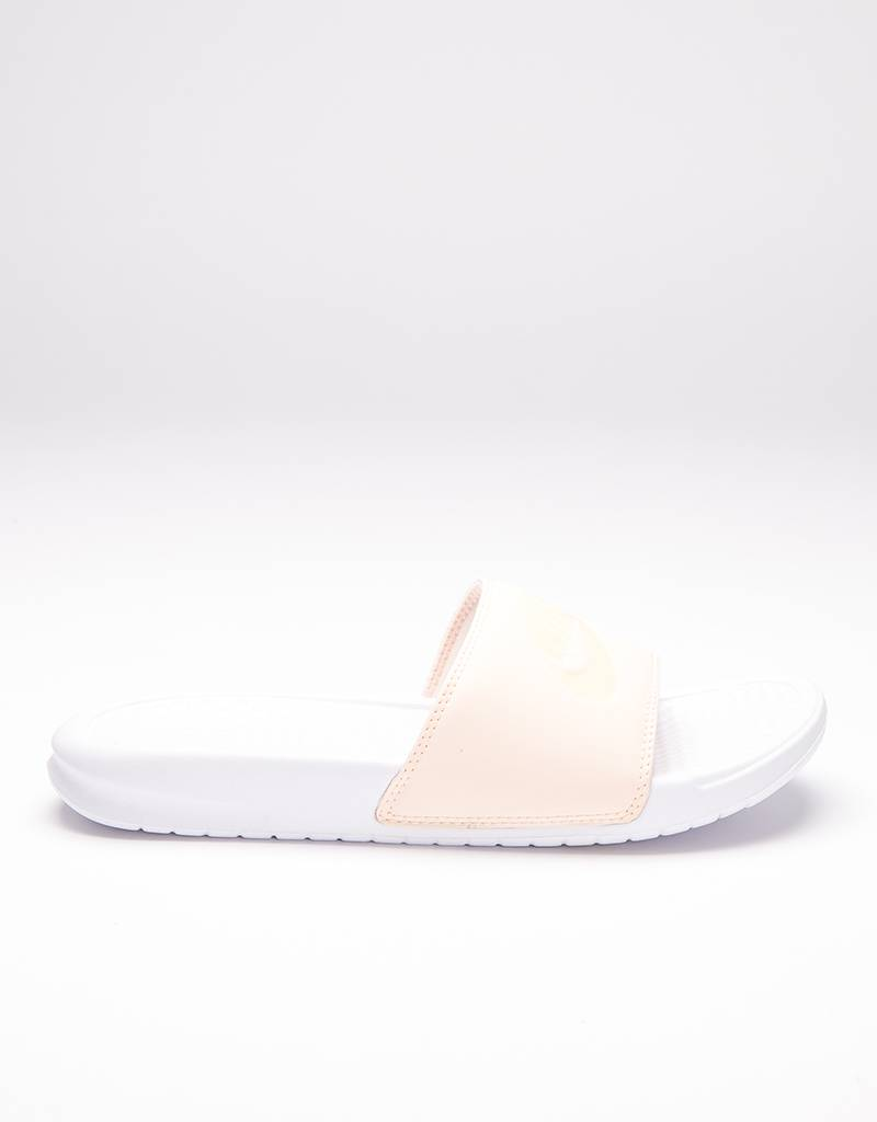 Nike Womens Benassi JDI Pastel QS Orange Quartz/Ice Peach/White