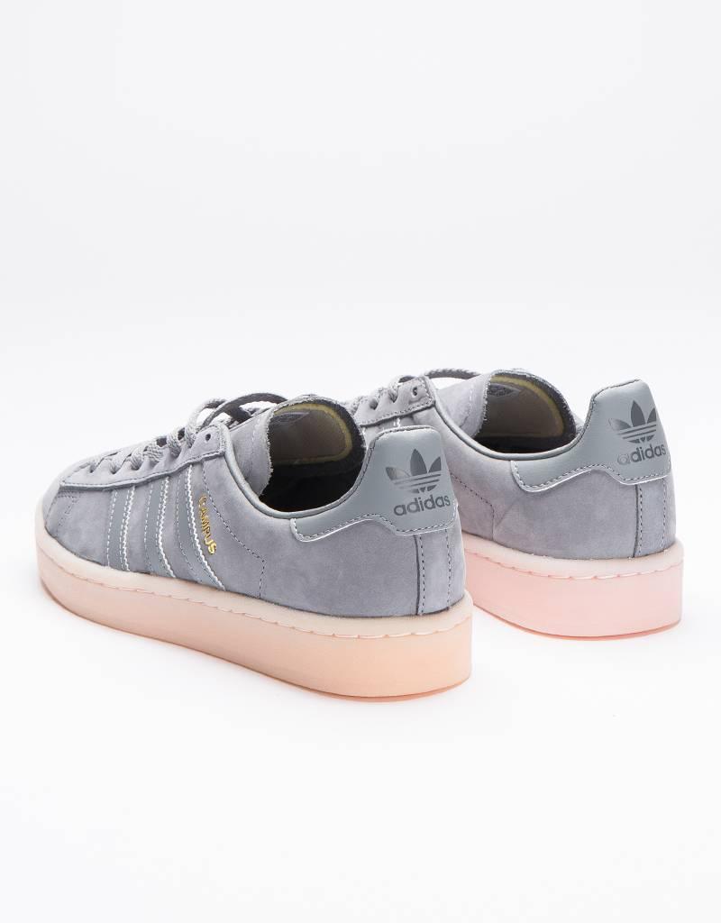 adidas Womens Campus Grey/Icey Pink
