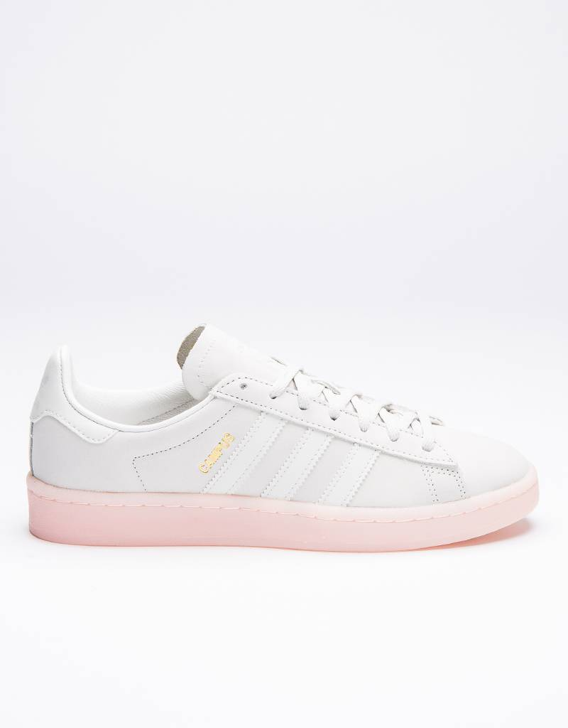 adidas Womens Campus Crystal White/Icey Pink