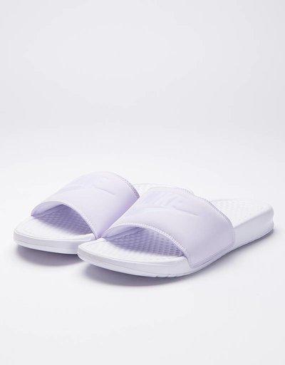 Nike Womens Benassi JDI Pastel QS Barely Grape/Mist/white