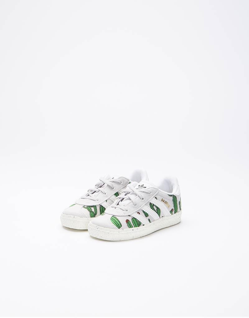 adidas Mini Rodini Gazelle Infant Grey One/White