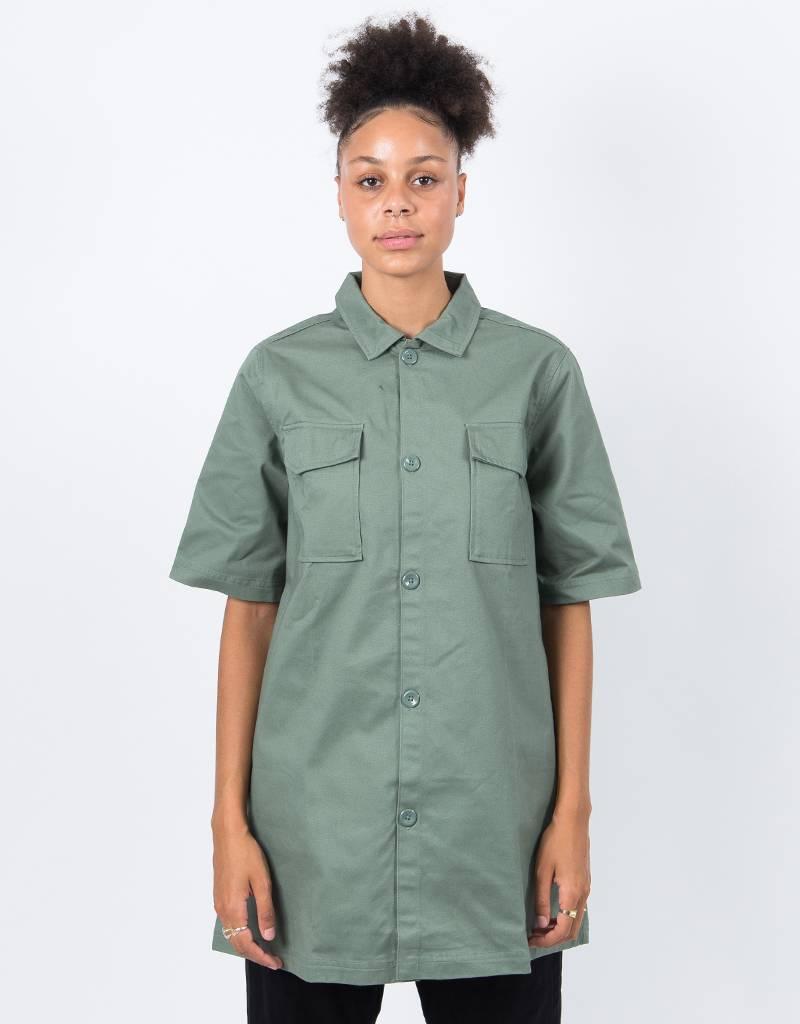 Reebok Women's X Melody Ehsani Shirt Military Green
