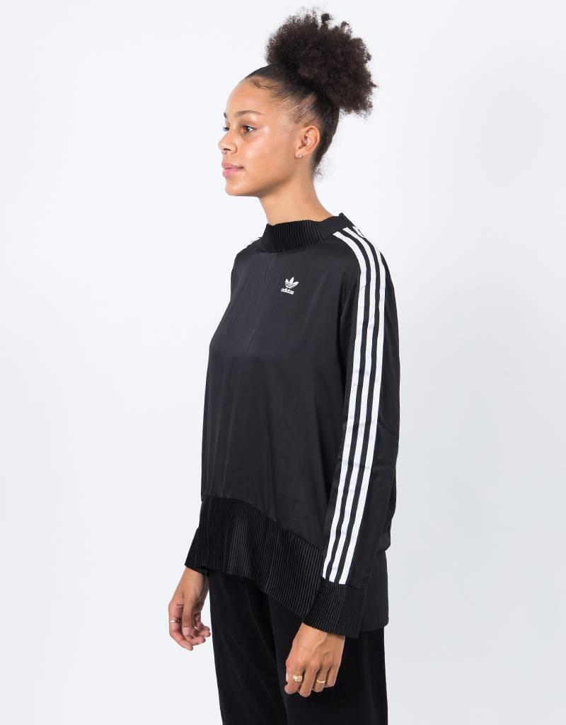 Adidas 3 Stripe Sweater Black