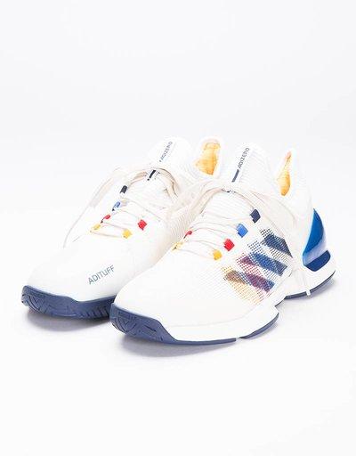 Adidas Consortium X PW Adizero Ubersonic 2 Chalk White/Dark Blue/Scarletv