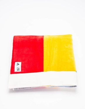 Adidas Adidas Consortium X PW NY Towel Chal White/Dark Blue/Scarlet