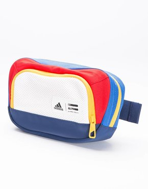 Adidas Adidas Consortium X PW NY Belt Pack Chal White/Dark Blue/Scarlet