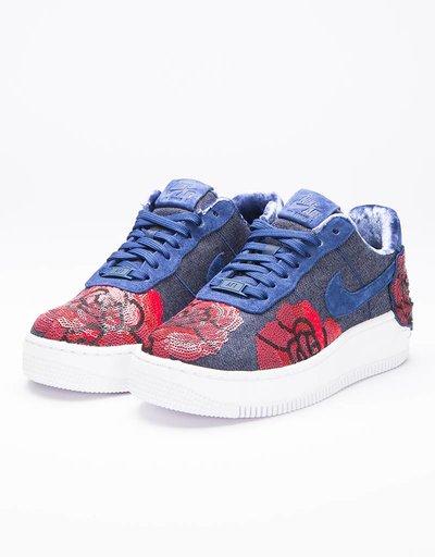 Nike Womens Air Force 1 Upstep Lux Binary Blue