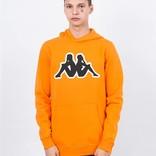 Kappa Kontroll big omini hoodie ornage rust