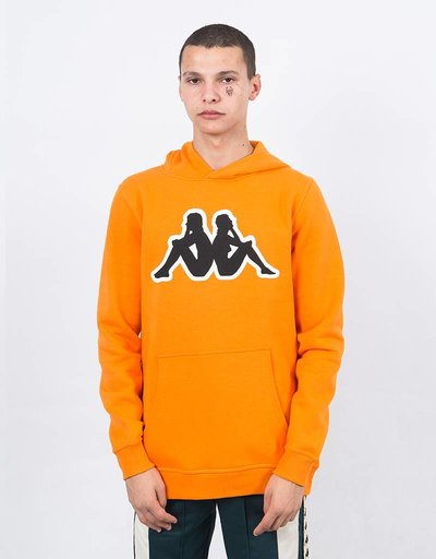Kappa Kontroll big omini hoodie ornage rust