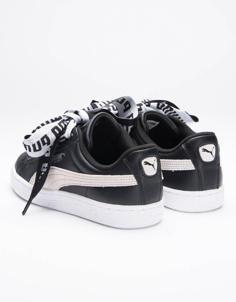 Puma Basket Heart De women's black/white