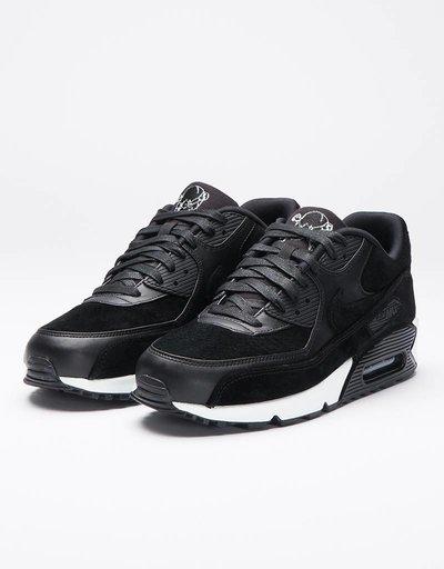 "Nike Air Max 90 PRM ""Skull Pack"" Black/Off White"