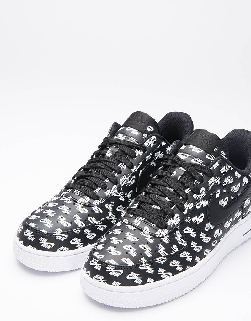 Nike Air Force 1 '07 QS All Over Black/Black/White