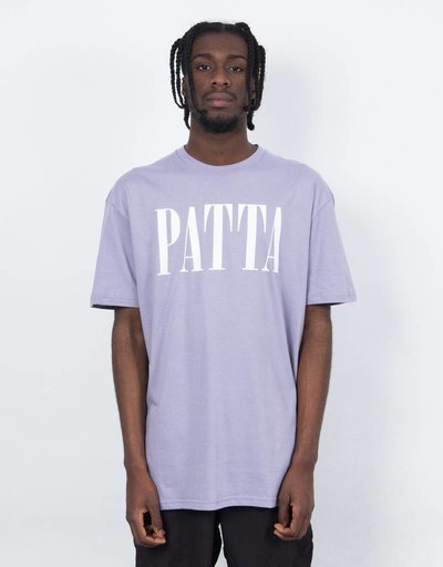 Patta throwback T-shirt Lavender Gray