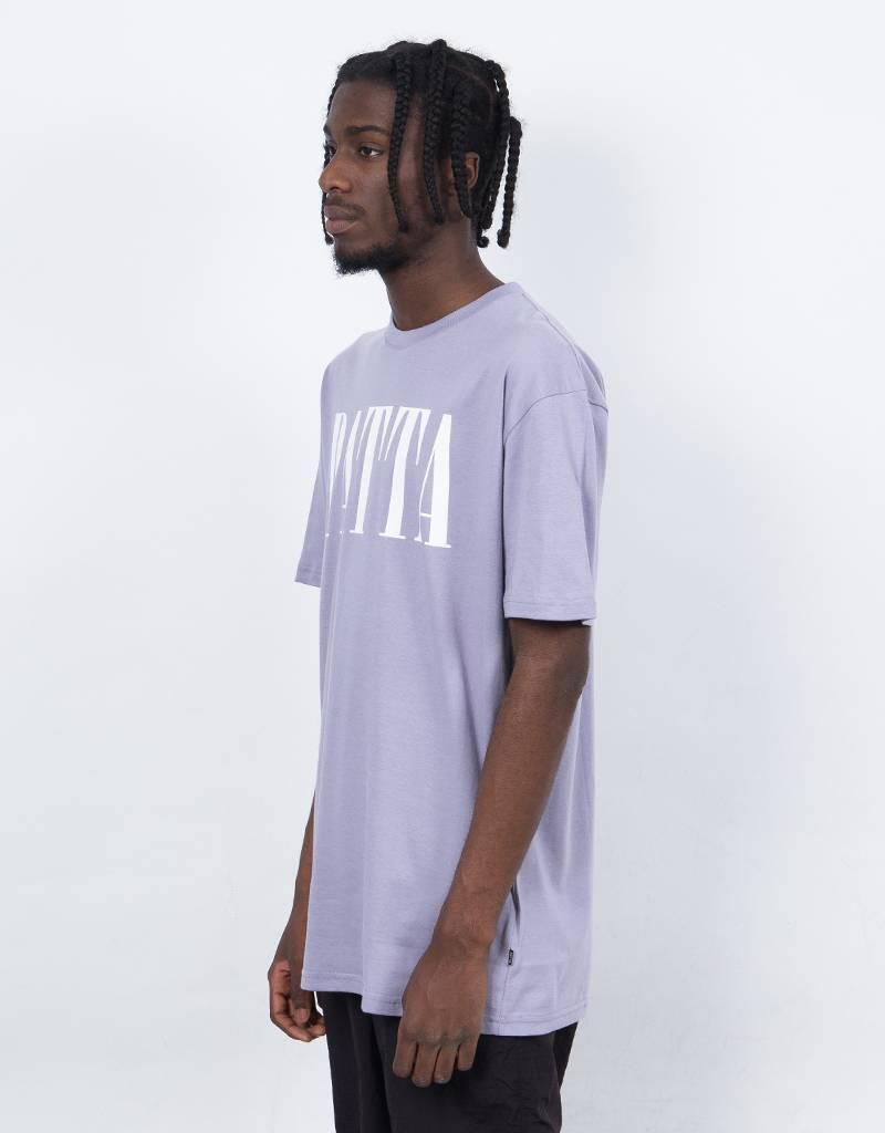 Patta throwback T-shirt Lavender Gray