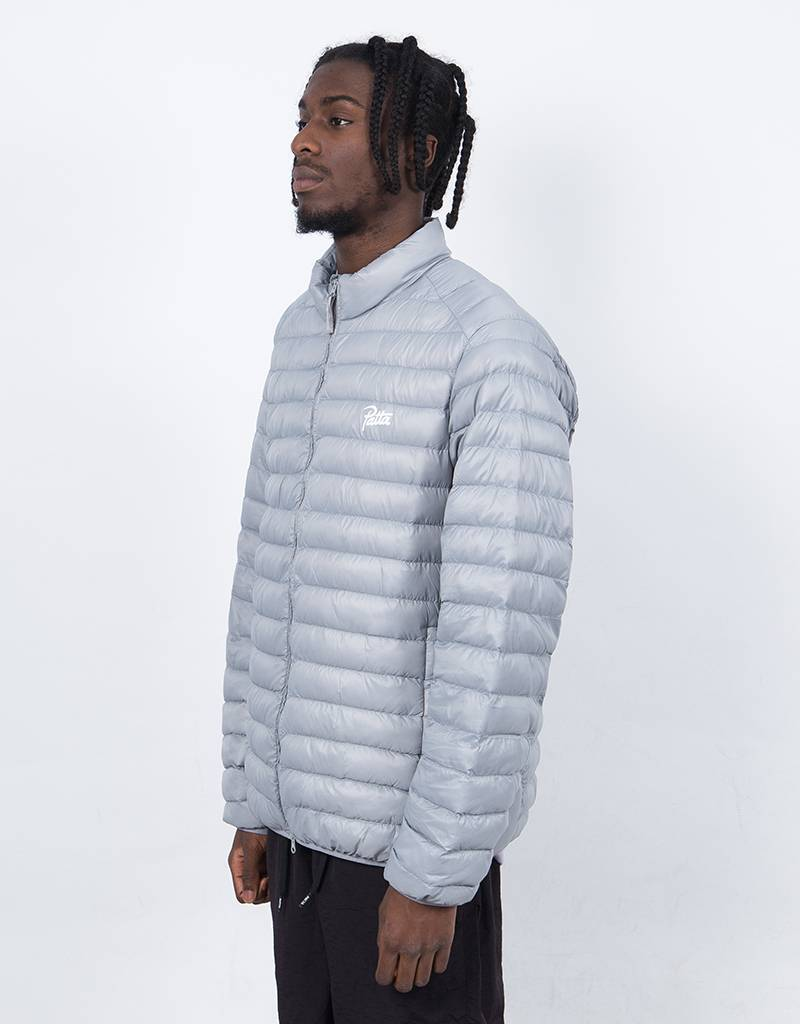 Patta Chest Logo Light insulated Jacket Grey