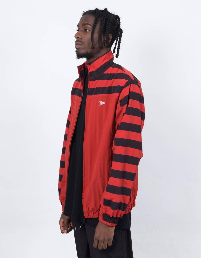Patta Striped Nylon Tracksuit Bossa Nova/Black