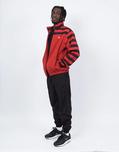 Patta Striped Nylon Tracksuit Bossa Nova/Black