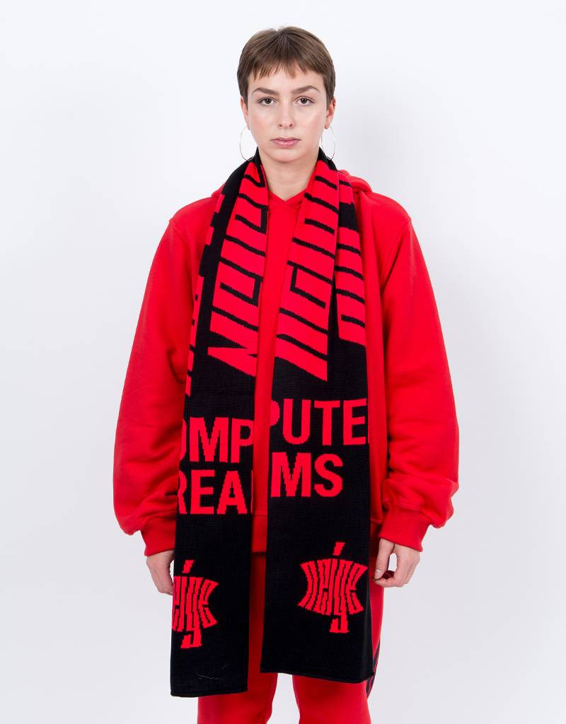 NEIGE CD Scarf Black/Red