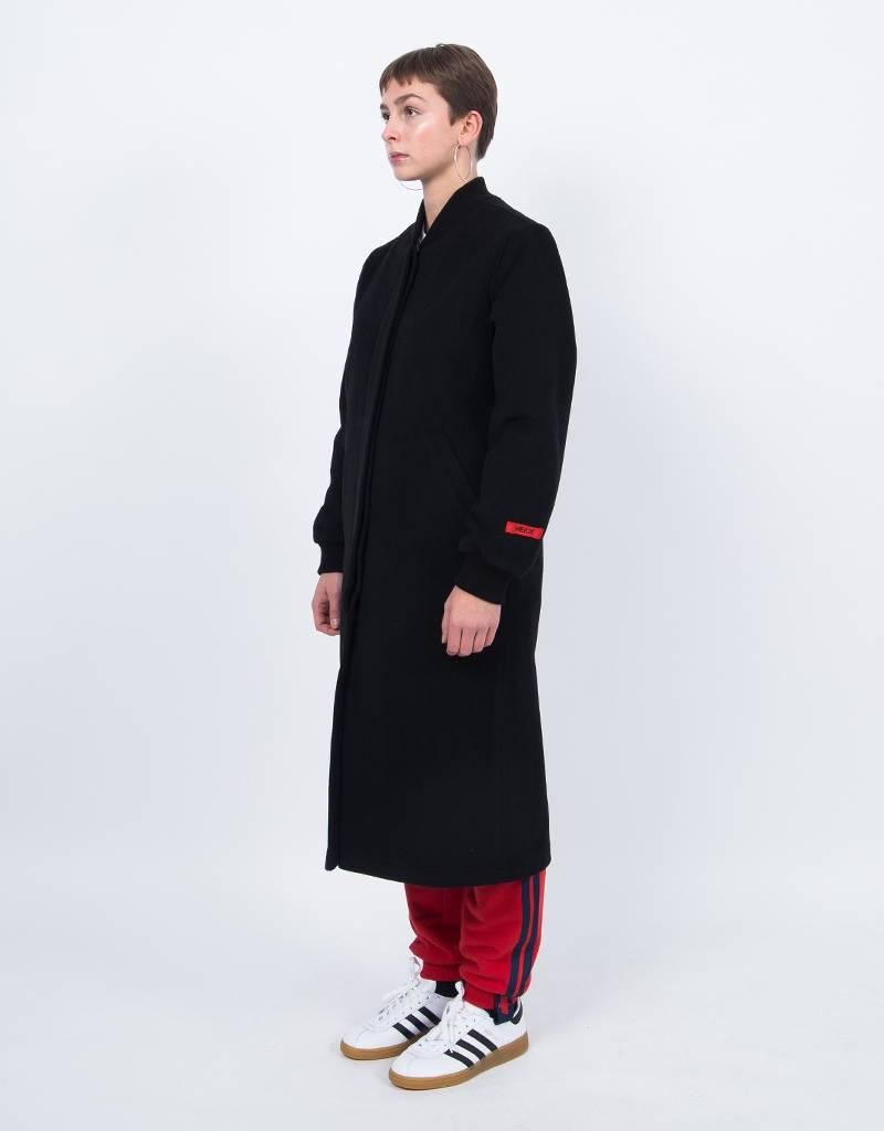 NEIGE Rope Wool Coat Black