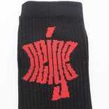 NEIGE Socks Black/Red