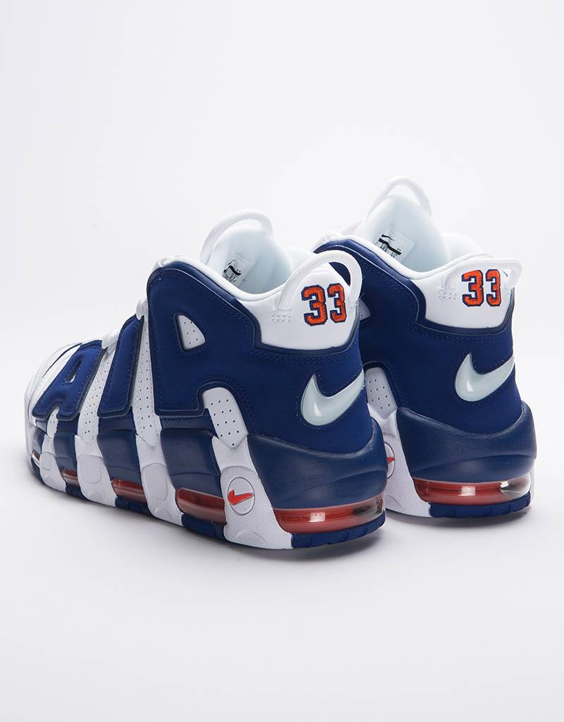 Nike Air More Uptempo '96 Whte/Deep Royal Blue/Team Orange
