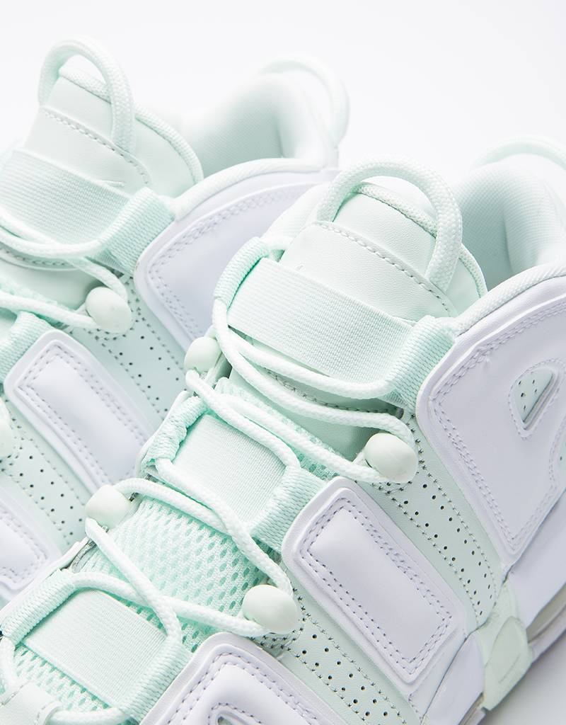 Nike Womens Air More Uptempo Barely Green/White