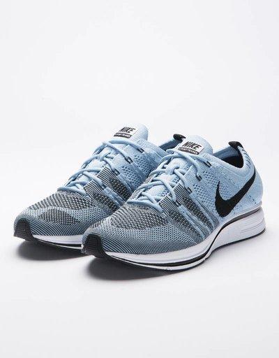 Nike Flyknit Trainer Cirrus Blue/Black/White