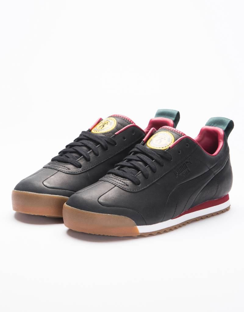 Puma x Daily Paper Roma Leather Puma Black
