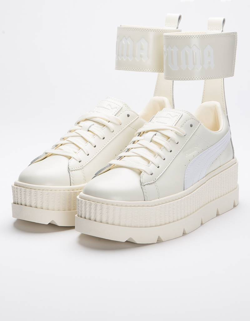 Puma x FENTY Ankle Strap Sneaker Vanilla Ice-Puma White