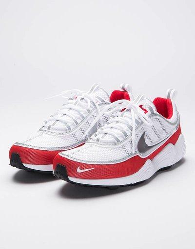 Nike Air Zoom Spiridon '16 White/Metallic Silver-University Red