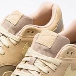 Nike Air Max 1 Premium LeatherKhaki/team gold-mushroom-sail