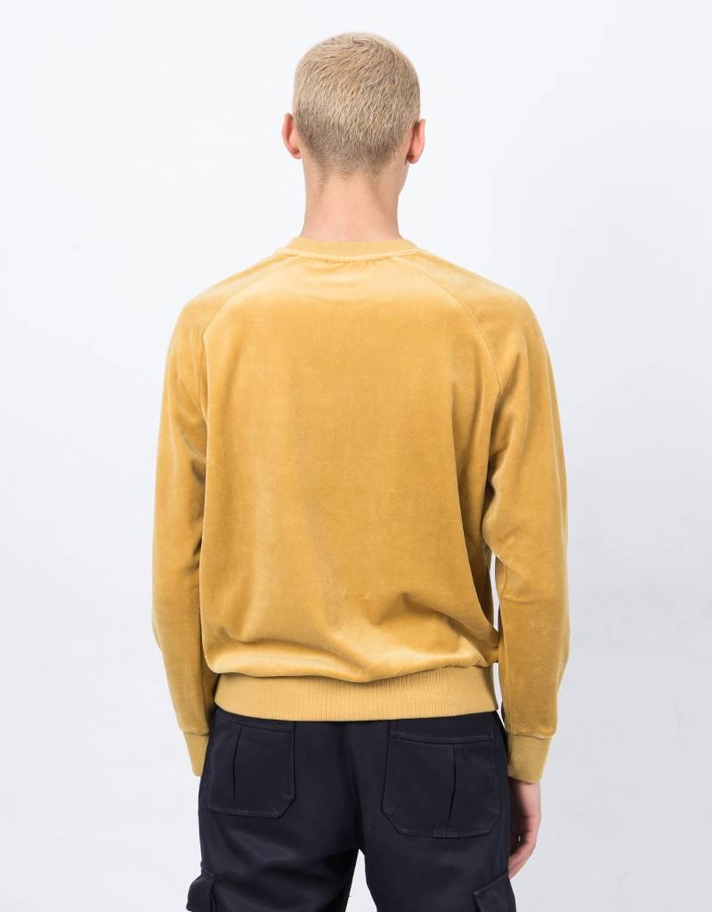 Fila LA Sweat Shirt Velour Mustard