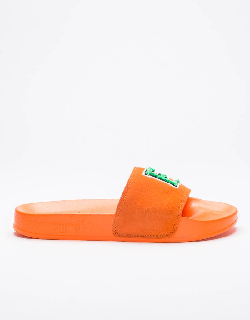 Puma Leadcat Fenty Golden Scarlet Ibis/Bright Green
