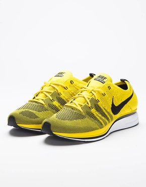 Nike Nike Flyknit Trainer Bright Citron/Black-White