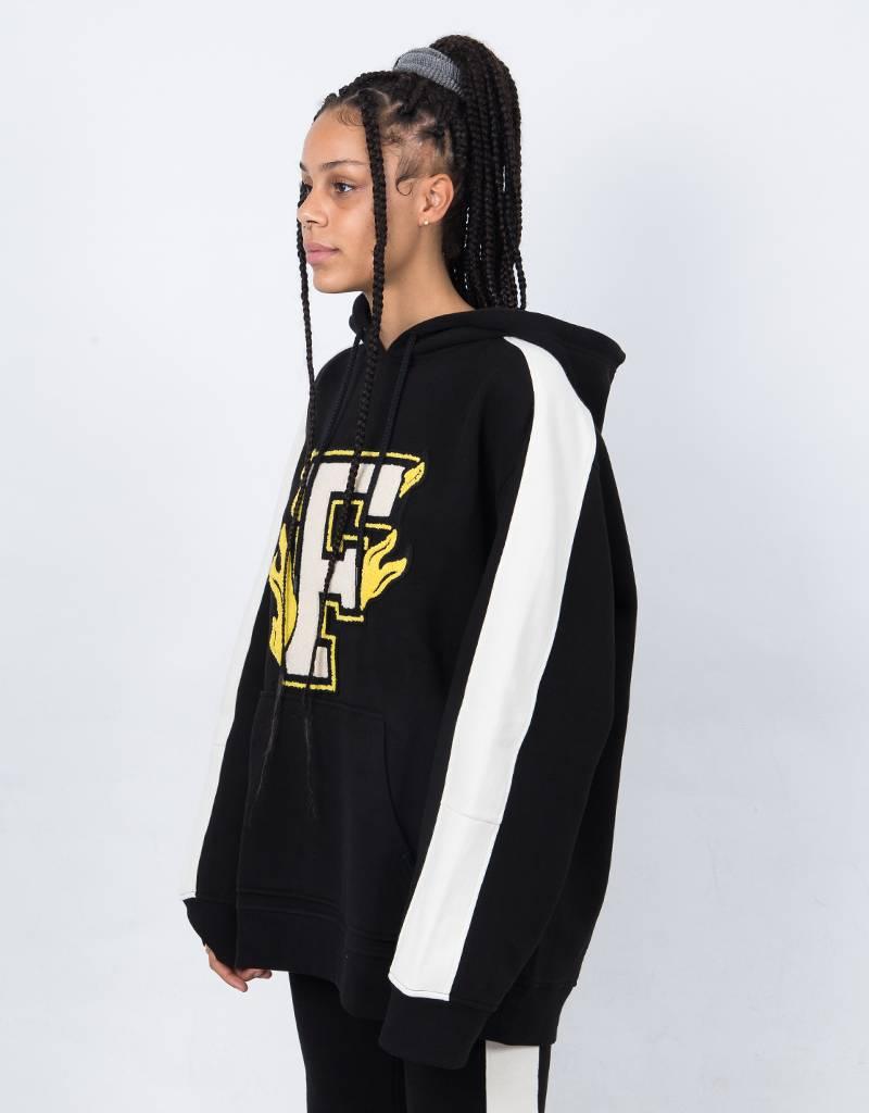 Puma Fenty Hooded Panel Sweatshirt Cotton Black