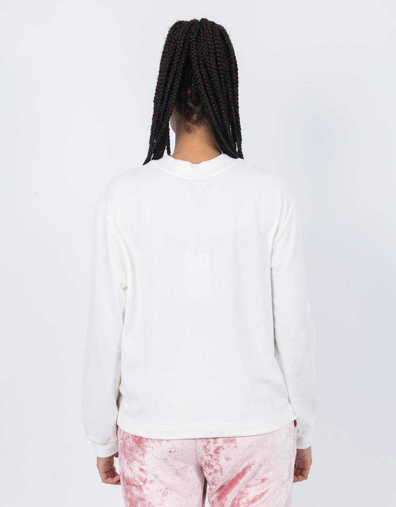 NikeLab Womens Ess Longsleeve Mock Neck Sail/Black