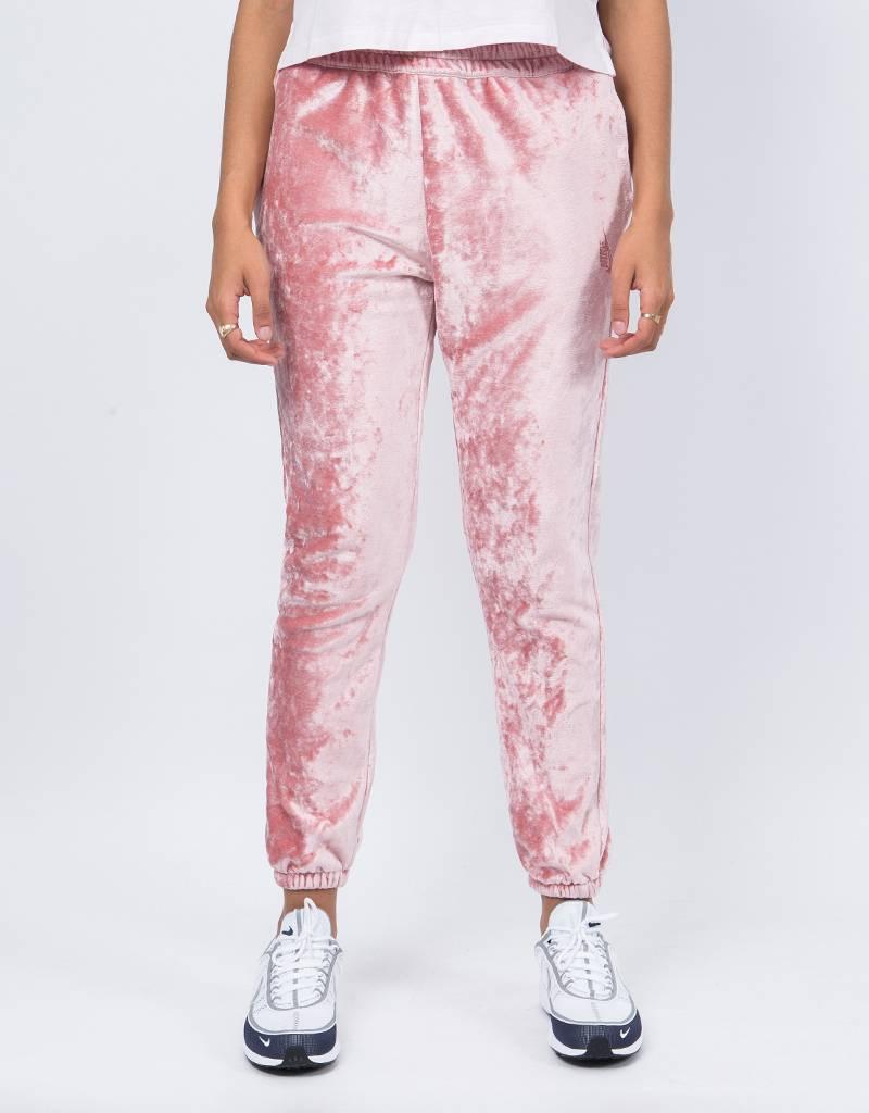 NikeLab Ess Velour Pant Rust Pink