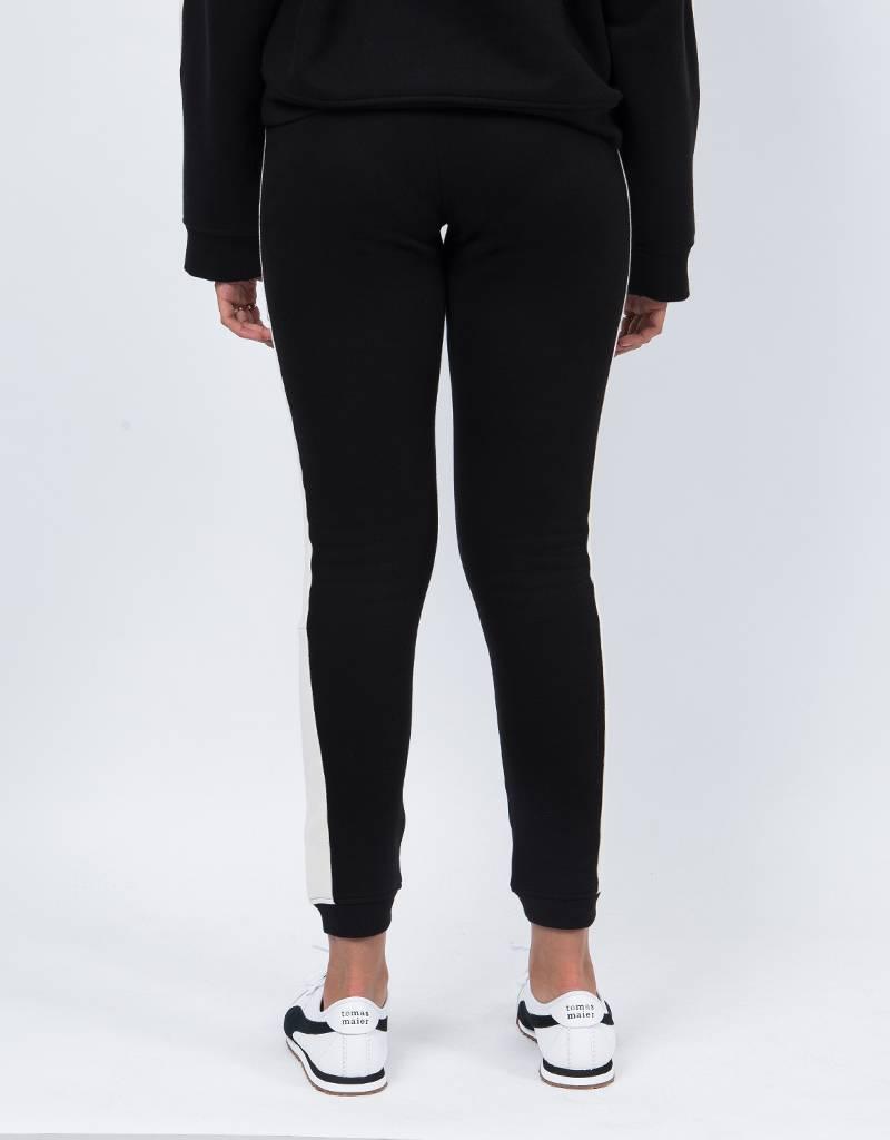 Puma Fenty Fitted Panel Sweatpants Cotton Black